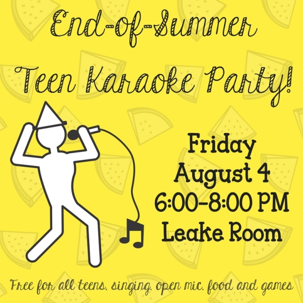 End of Summer Karaoke Party