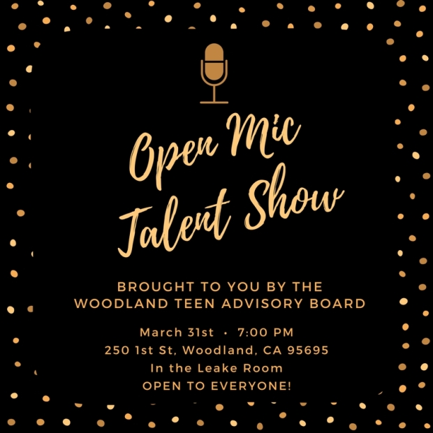 Open Mic Talent Show