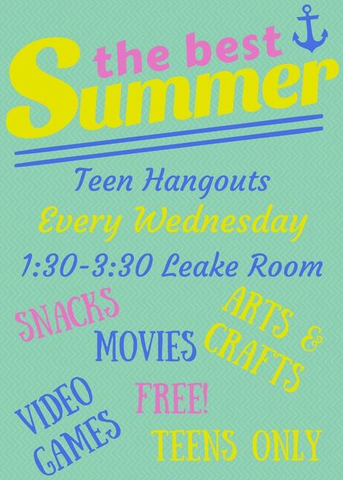 Teen Hangouts SRP 2017