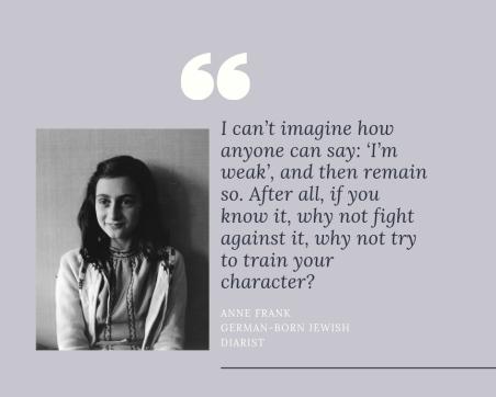 Anne Frank German-born Jewish diarist