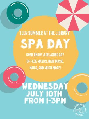 spa day flyer