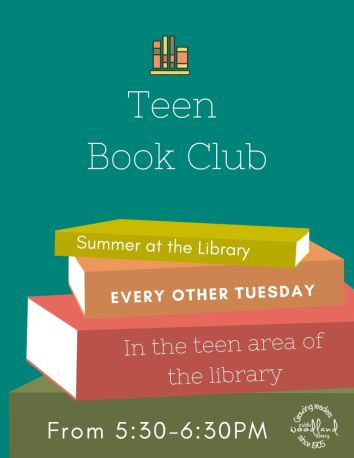 Teen Book Club Summer Flyer